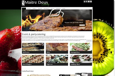 Maitre Deux Website Screenshot 6