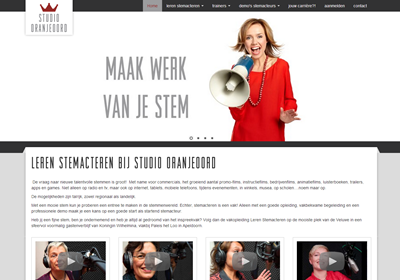 Website Studio Oranjeoord